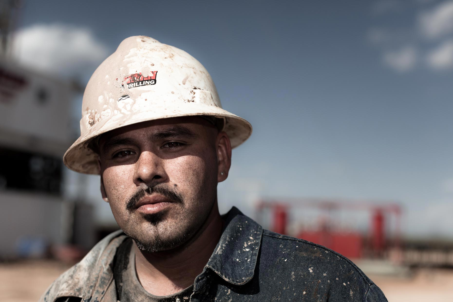 Portrait of an oil roughneck |  Scott Gable industrial photographer